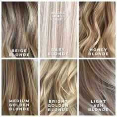 Highlights names for your hair and the names to tell your hair stylist!! Very helpful