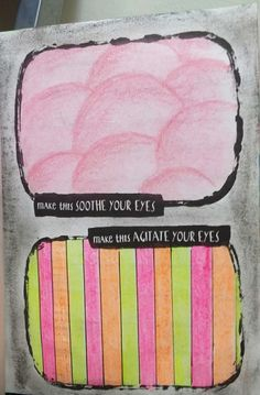 """Anti Journal """"make rhis soothe your eyes"""" """"make this agitate your eyes"""" #AntiJournal"""