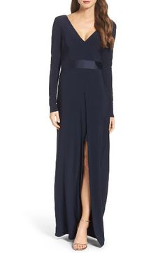 4a6ced43939c1 Free shipping and returns on Vera Wang Jersey Gown at Nordstrom.com. With  long