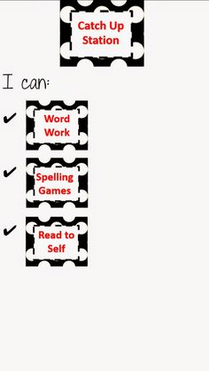Beg, Borrow, and Teach:  Guided Reading station descriptions, labels, and activities.