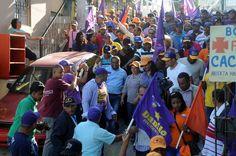 René Polanco denuncia alcalde ordena le destruyan propaganda