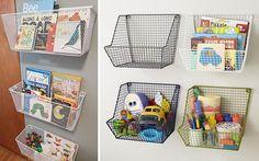 | Ideas para almacenar juguetes