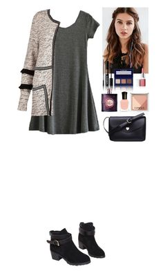 """""""Outfit TOMTOP"""" by eliza-redkina ❤ liked on Polyvore featuring River Island, Regal Rose, LORAC, Clinique, Deborah Lippmann, Yves Saint Laurent, StreetStyle, outfit, like and look"""
