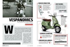 #Vespa #Infographic