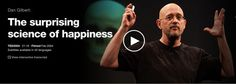 """Harvard psychologist Dan Gilbert, author of """"Stumbling on Happiness,"""" challenges the idea that we'll be miserable if we don't get what we want. Our """"psychological immune system"""" lets us feel truly happy even when things don't go as planned."""