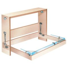 Fold Down Bed Mechanism - Side Mount Queen (67'' High X 84'' Wide) - Furniture Pads - Amazon.com