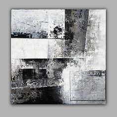 Blak and White Classic Abstract Oil Painting 4803877 2017 – $61.59