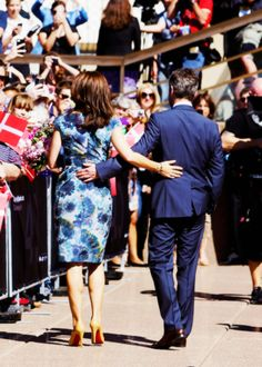 Crown Prince Frederik and Crown Princess Mary arrived in Sydney today for a five day visit commemorating the 50th anniversary of the Sydney Opera House.