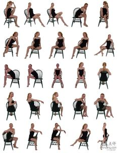 Sitting on chair female poses Studio Photography Poses, Fashion Photography Poses, Photography Ideas, Best Portrait Photography, Photography Books, Photography Studios, Photography Flowers, Photography Classes, Wedding Photography