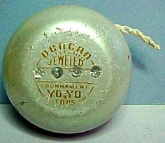 """6/6/2013:  Today is Donald Duncan (1892), Sr, Founder of the Duncan Toys Company birthday and Yo-Yo day!  Filipino Pedro Flores is credited with the introduction and initial popularity of the yo-yo in the United States. He is even responsible for naming it the """"yo-yo."""" But it is businessman Donald F. Duncan who gets most of the credit."""