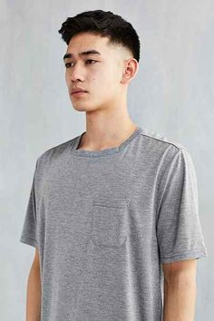 The Narrows Square Neck Pocket Tee Asian Men Short Hairstyle, Asian Man Haircut, Asian Short Hair, Short Hairstyles For Women, Haircuts For Men, Short Hair For Men, Men Hairstyles, Gents Hair Style, Mens Clothing Sale