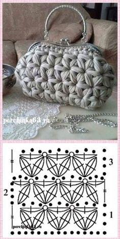 Best 12 Souvenir gehäkelter Turban – The Frog Tricote … – leoira mini Strickerei - Crochet Crochet Stitches Patterns, Purse Patterns, Sewing Patterns, Crochet Handbags, Crochet Purses, Crochet Clutch, Diy Crochet, Crochet Crafts, Diy Crafts