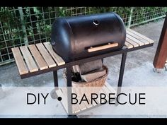 DIY barbecue - homemade grill - old hot water boiler Homemade Grill, Diy Grill, Bbq Diy, Barbeque Design, Grill Design, Backyard Bbq Pit, Barrel Bbq, Custom Bbq Pits, Charcoal Bbq Grill