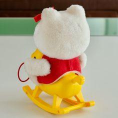 ヤフオク! - ハローキティの乗馬あそび キティちゃん Hello Kitty Toys, Cat Toys, Elf On The Shelf, Holiday Decor