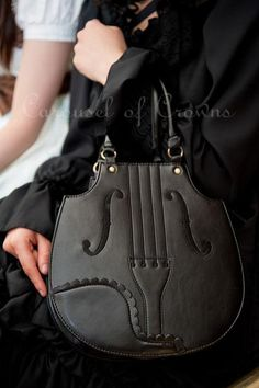 Violin Purse ❤ I have nothing to say. I want to cry.