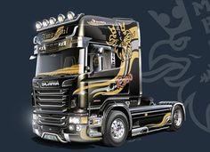 """Italeri 3883 Scania R730 V8 """"Imperial"""""""