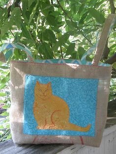 Cat Bag by Ann Lilley