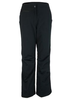 Women's Ski Pants in Black Fully Insulated Fabric: 100% Polyester with HydroBlock Waterproof Breathable Coating and DuroGuard DWR (durable water repellant) Finish