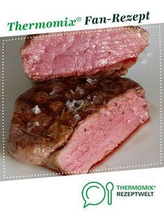 Ein Thermomix ® Rezept au… The perfect fillet steak (sous vide) from UdoSchroeder. A Thermomix ® recipe from the main course with meat category www.de, the Thermomix ® community. Pork Chop Recipes, Meatloaf Recipes, Grilling Recipes, Fish Recipes, Quiche Recipes, Barbecue Recipes, Chicken Recipes, Filet Steak, Sous Vide Cooking