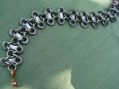 bike chain bracelet by hourglassproductions on Etsy