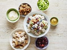 Reinvent basic chicken salad with new takes on the classic.