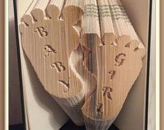 Happy Birthday Bow Book Folding Pattern by JHBookFoldPatterns