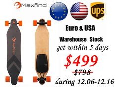 Cheap electric longboard, Buy Quality skateboard electric directly from China 4 wheel electric Suppliers:  2016MaxfindHigh Quality Fashion Design 4 Wheels DIY Longboards Motorized Skateboard Supplier Fac