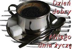 Wiersze,Gify Na Dzień Dobry ...: Gify na dzien dobry - herbata , kawa Coffee Images, Coffee Time, Gardening, Tea, Tableware, Messages, Paintings, Dinnerware, Coffee Pictures