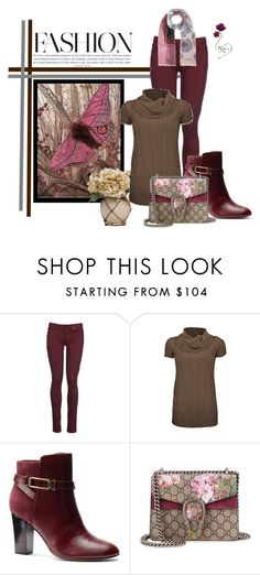 """Phoebe"" by lulurose98 ❤ liked on Polyvore featuring 8, Isolá, Gucci and Burberry"