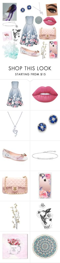 """Spring colours"" by eliskiku ❤ liked on Polyvore featuring Chi Chi, Lime Crime, BERRICLE, Bloomingdale's, Ted Baker, Thomas Sabo, Chanel, Casetify, Pier 1 Imports and Emily Carter"