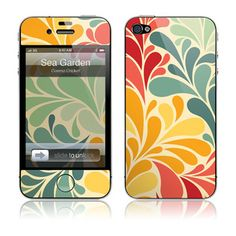 The HardCase for iPhone 4 & 4S - Sea Garden
