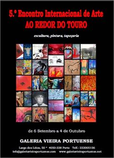 5.º ENCONTRO INTERNACIONAL DE ARTE AO REDOR DO TOURO: Cartaz