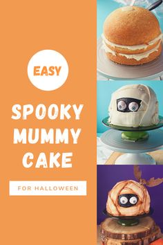 Do you need Halloween treat ideas? This Halloween dessert is perfect for a Halloween party treat. Kids and adults alike will love this Spooky Halloween Mummy Cake! Whether you are going to a Halloween party or just baking for Halloween at home, this Spooky Mummy Cake is the perfect Halloween dessert! #thebearfootbaker #halloween #halloweendesserts #halloweenfood #halloweenpartyfood #halloweenbaking #halloweentreatideas Halloween Party Treats, Halloween Baking, Halloween Goodies, Halloween Desserts, Halloween Cakes, Spooky Halloween, Box Cake Mix, Just Bake, Cake Videos