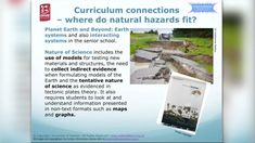 Exploring Hazards - PLD VIDEO and PPT.  In this recorded professional learning session, Lyn Rogers and guest Aliki Weststrate from GNS Science explore some of the science involved in building our understandings of natural hazards, including volcanoes, earthquakes, tsunamis and lahars. They introduce some readily available resources and activities and delve into some of the exciting research happening in this field in New Zealand. Tsunami Waves, Science Inquiry, Continental Shelf, Materials And Structures, Earthquake And Tsunami, Electromagnetic Radiation, Water Waves, Student Engagement, Sound Waves