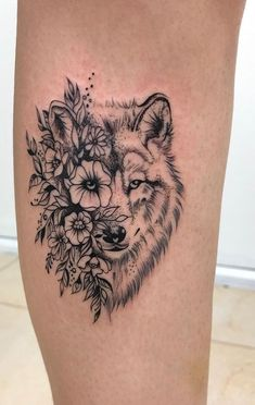 wolf tattoo © Sinergia Tattoo Studio