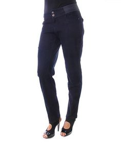 0dcfc2ea A sleek straight-leg give these tailored pants an extra-svelte silhouette,  while