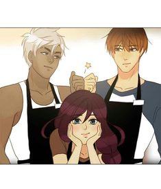 Siren's Lament. Ian, Lyra & Shon.