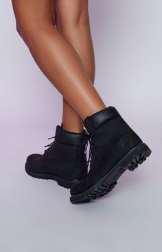 "Timberland 6"" Premium Boots Black"