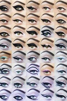 20 Amazing Eyeliner Looks | Daily Makeover