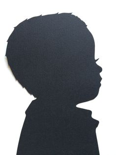 Items similar to Hand Cut Custom Silhouette Portrait - Custom Family Portraits - Silhouette Cameo on Etsy Silouette Art, Black Silhouette, Woman Silhouette, Profile Photo, Side Profile, African American Girl, T Shirt Image, Character Wallpaper, Silhouette Portrait