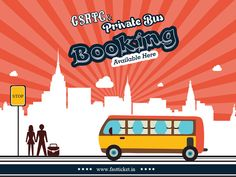 Break your boredom by planning a weekend trip with your gang of friends or plan a family picnic with Fastticket's amazing GSRTC & Bus booking service. It's way too easy with Fastticket.in http://fastticket.in/travel/bus-ticket-booking