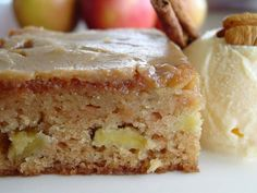 Fresh Apple Cake With Brown Sugar Glaze (1) From: Lick The Bowl Good, please visit