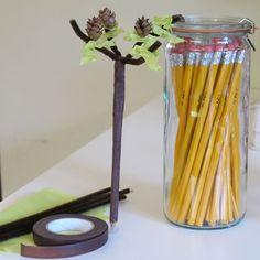 Tu B'Shevat Pencils - Tu B'Shevat Crafts & Activities - Jewish Kids