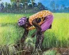 Gullah Art, African American Art by John Jones at Gallery Chuma, Charleston, SC by estelle