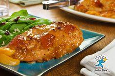 Grilled Peach Chicken | 1 Guiding Star