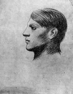 """Pablo Picasso (1881-1973), """"Self Portrait"""""""