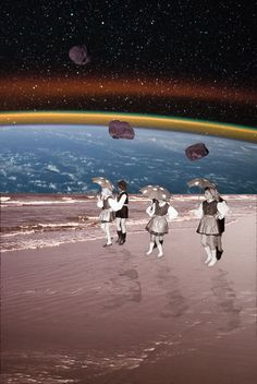 Space Dance | Collage by Julia Walck