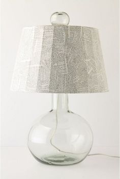 The Look for Less: Wordy Lampshade | Apartment Therapy