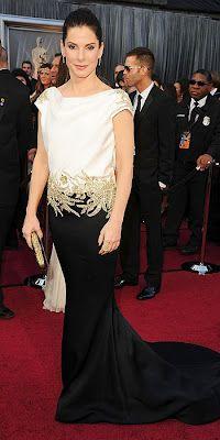 Sandra Bullock by Marchesa