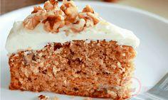 Bizcocho de Zanahoria, Receta de Torta de Zanahoria